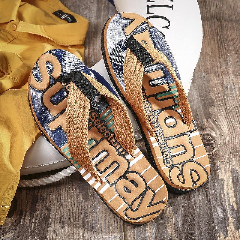 NC Mens Flip Flops Thong Sandals Yoga Foam Slippers 39 R011 Brown