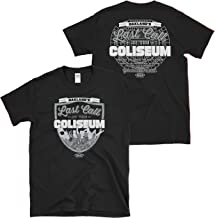 Raider Football Fans. Last Call at The Coliseum Black T-Shirt (Sm-5x)