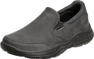حذاء بدون كعب جليدز كالكولس للرجال من سكيتشرز سهل الارتداء