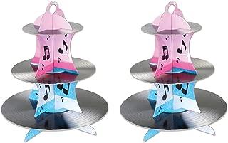 vinyl record cupcakes