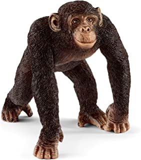 Schleich Wild Life Chimpanzee Male Educational Figurine for Kids Ages 3-8