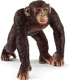 Schleich Chimpanzee Toy Figure, Brown