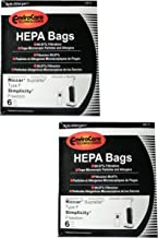 12 Hoover Duros Type SR Vacuum Bags with MicroFiltration Vacuum Cleaners HO-101