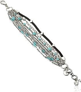 Women's Mini Lucky Layer Turquoise Bracelet