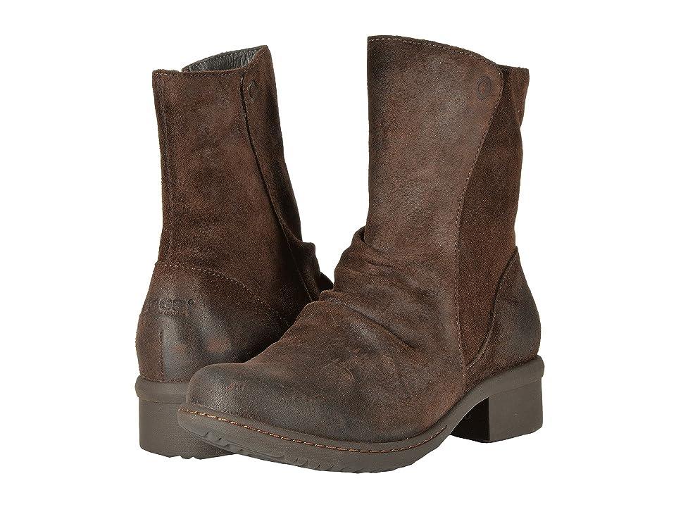 Bogs Auburn Leather (Dark Brown) Women