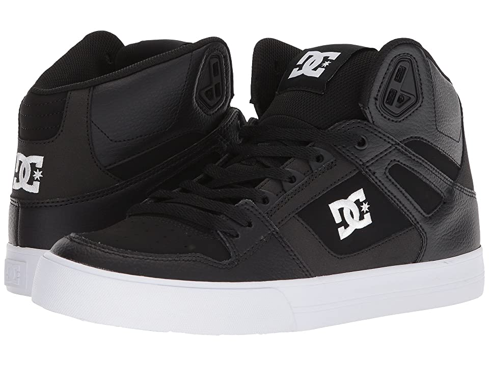 DC Pure High-Top WC (Black/White) Men