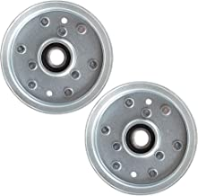 8TEN 2pk Flat Ider Pulley for Cub Cadet MTD White Columbia Troy Bilt Craftsman Super Bronco Z6600 756-05042 2 Pack