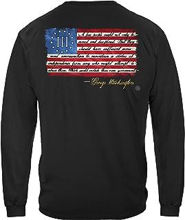 Erazor Bits 2nd Amendment George Washington T-Shirt RN2463