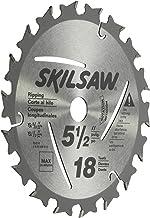 "SKILSAW SKIL 95010 18-Tooth Circular Saw Blade, 5-1/2"""