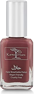 Karma Halal Certified Nail Polish- Truly Breathable Cruelty Free and Vegan - Oxygen Permeable Wudu Friendly Nail Enamel (SUFIA)