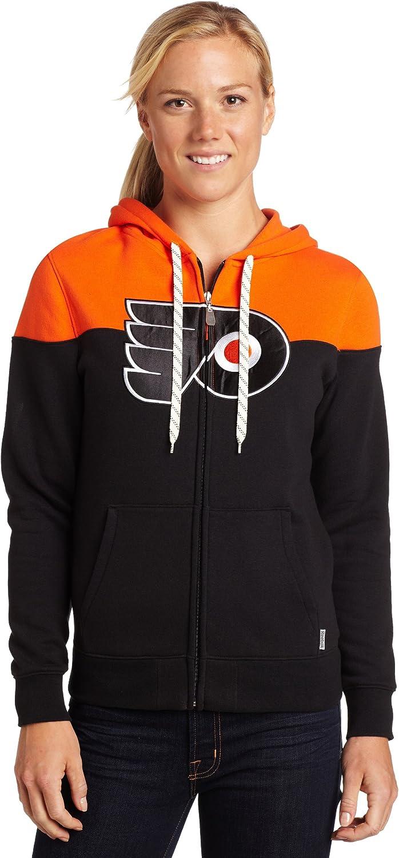 NHL Max 75% OFF Philadelphia Flyers Full Women's Zip Overseas parallel import regular item Hood