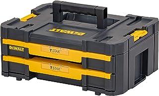 DeWalt DWST1-70706 T-Stak IV Tool Storage Box with 2-Shallow Drawers, Yellow/Black, 7.01 cm*16.77 cm*12.28 cm