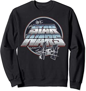 Star Wars Tie Fighter Circle Poster Sweatshirt