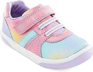 Stride Rite Girls SR Thompson Sneaker, Rainbow, 7 Toddler