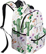 School Backpack Dinosaurs Collection Student Bookbag Casual Outdoor Daypack Travel Bag for Teen Boys Girls College Student