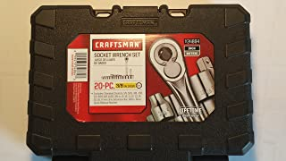 Craftsman 20-pc Inch and Metric Socket Set