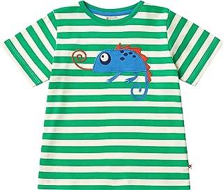 Piccalilly T-shirt unisexe en coton bio pour enfant Orange endormi