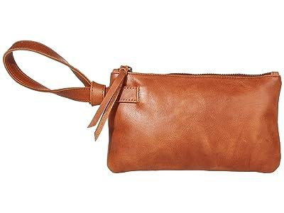 ABLE Rachel Wristlet (Whiskey) Wristlet Handbags