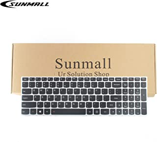 SUNMALL Laptop Keyboard Replacement with Backlight Compatible with Lenovo IdeaPad Flex 2 15 B50 B50-30 B50-45 B50-70 B50-80 B51-80 G50 G50-30 G50-45 G50-70 US Layout