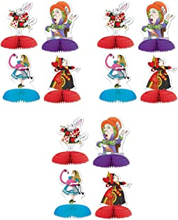 Beistle 54769, 12 Piece Alice In Wonderland Mini Centerpieces, 5