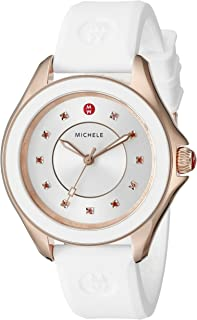 Women's MWW27A000004 CAPE Stainless Steel Watch with White Band