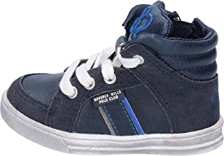 Fashion-Sneakers Baby-Boys Leather Blue
