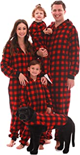 #followme Matching Family Buffalo Plaid Adult Onesie Kids' Bodysuits