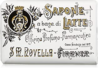 Katase Santa Maria Novella Milk Soap # Jasmine 100 g Parallel Import Goods, Clear