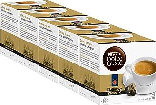 Nescafé Dolce Gusto Dallmayr prodomo, 5 Pakken, 5 x 16 Capsules
