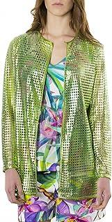 D'Arienzo - Shirt • Colore Verde • Soprabito in Pelle Traforata