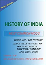 History of India: MCQ Series
