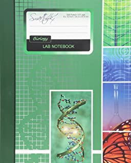 Lab Notebook: Biology Laboratory Notebook for Science Student / Research / College [ 101 pages * Perfect Bound * 8 x 10 inch ] (Composition Books - Specialist Scientific)