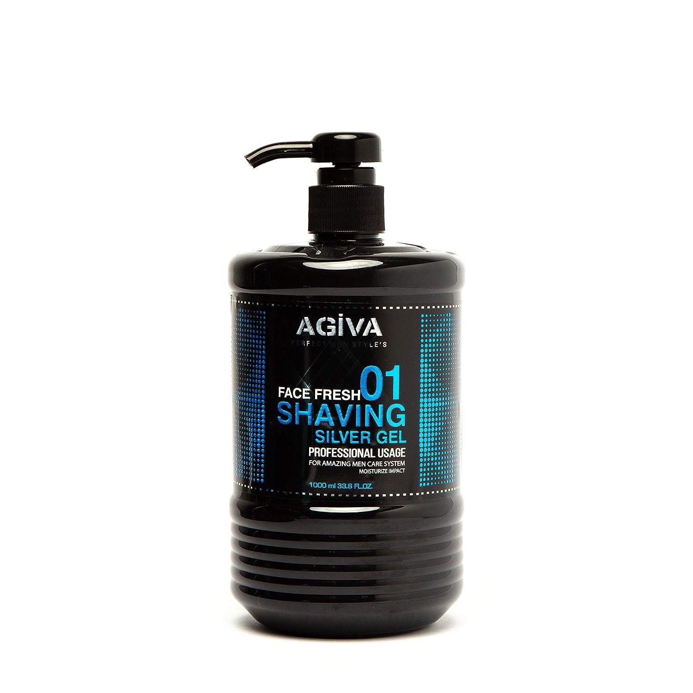 Agiva 2021 Transparent Shaving Gel Same day shipping 01 34oz Impact with Moisturize