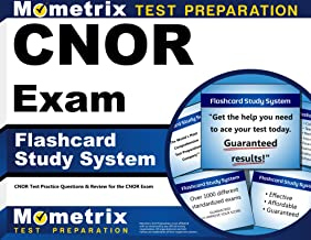 CNOR Exam Flashcard Study System: CNOR Test Practice Questions & Review for the CNOR Exam (Cards)