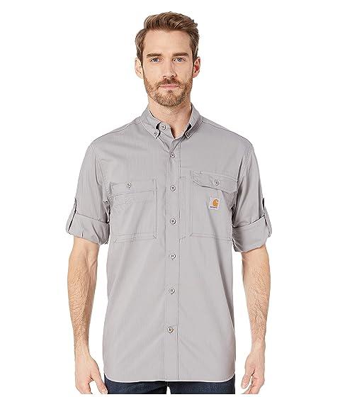 cb0fd78b3b Carhartt Force Ridgefield Solid Long Sleeve Shirt at Zappos.com
