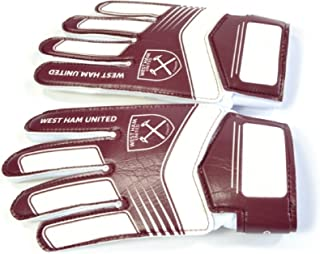 West Ham FC Childrens/Kids Goalkeeper Gloves