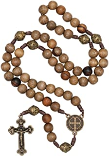 Intercession™ Our Father Sacred Handmade Solid Wood Rosary
