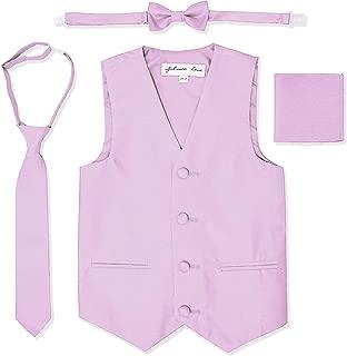 Johnnie Lene Boys Formal Dupioni Tuxedo Vest Set