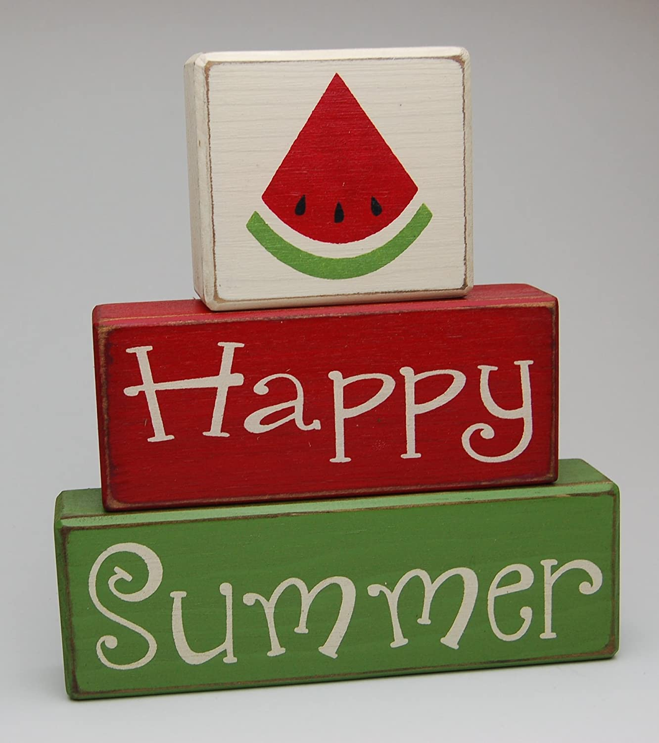 Happy Summer Watermelon - 2021 new Country Flower Pineapple Sale item Primitive