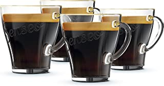 Senseo Coffee Cup, 4 Piece Set, Coffee Mug, Cup, Glass, 100 ml