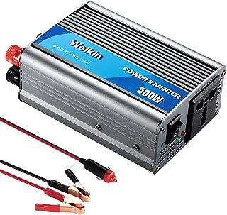 WEIKIN Power Inverter 500W inversor de energia DC 12V to AC 220V 230V convertidor de Poder Utilizar Tanto en Coche como en casa