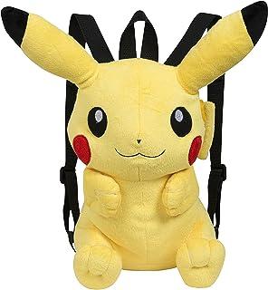 Famosa Softies - Pokèmon Mochila, peluche Pikachu, 30 cm, color amarillo (Famosa 760015201)