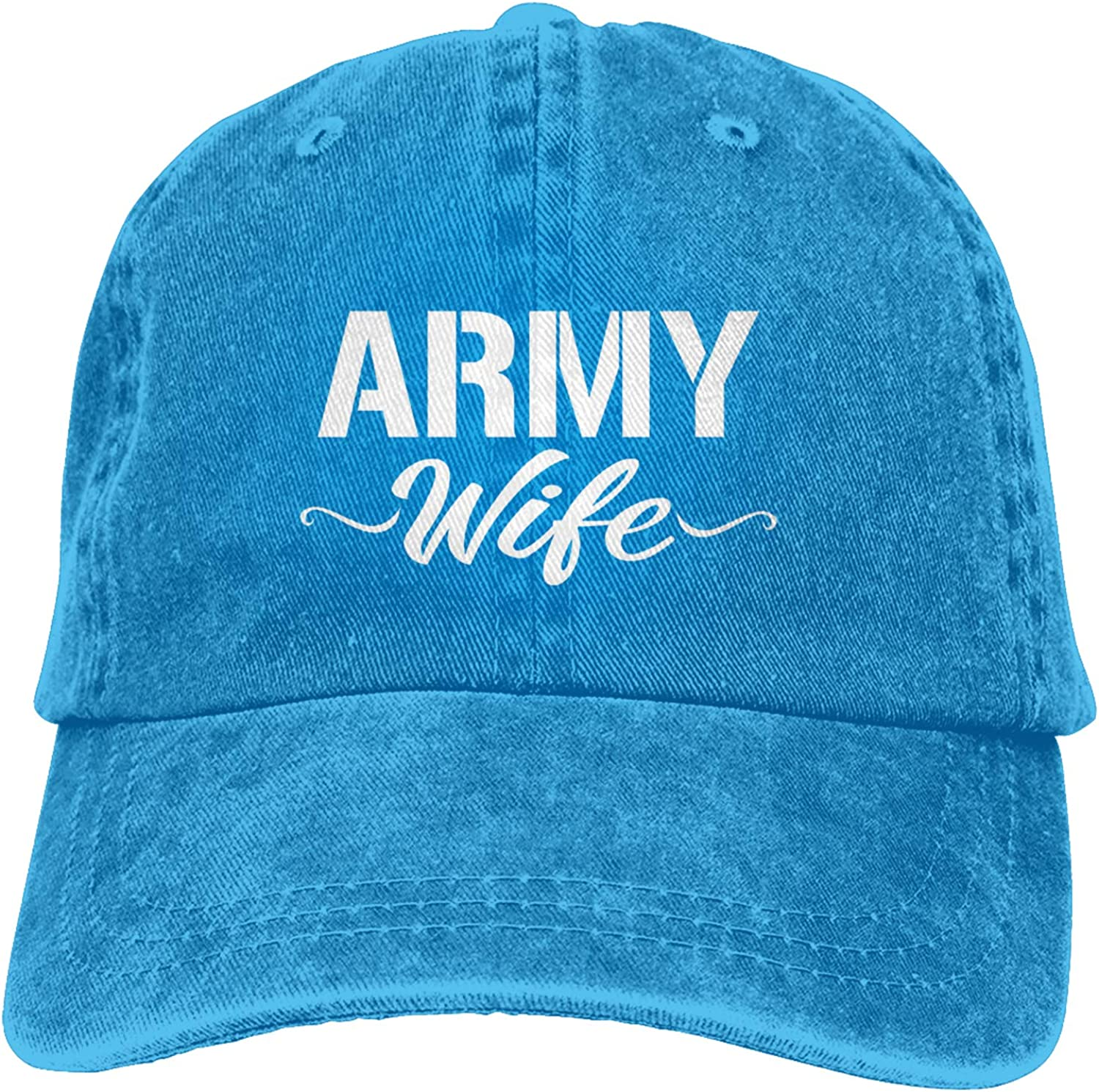 Kritin Proud Army Wife Hat US Army Solider Baseball Adjustable Army Wife Trucker Dad Hat