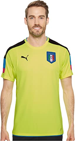 FIGC Italia Goalkeeper Short Sleeve Shirt