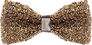 gold bling bow tie