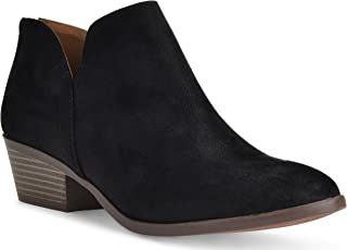 Best womens suede ankle boots black Reviews