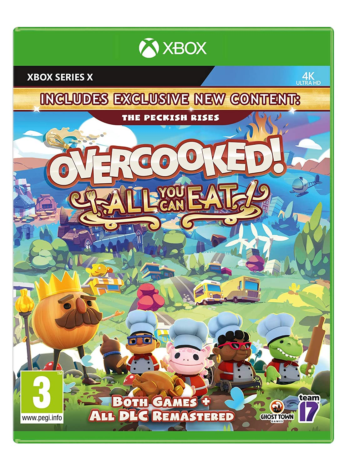 Overcooked All You Cash special price Can Eat Xbox Series Don't miss the campaign X