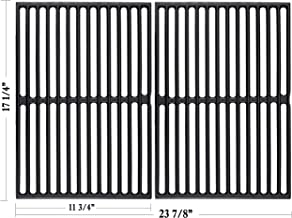 Hisencn 7526 17.25 Inch Grill Grates Replacement for Weber Spirit 300, E-310, E-320, S-310, S-320, 17.25