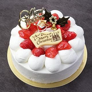 パティスリーTakaYanai 生クリーム苺デコレーションケーキ5号 お届け:12月24日 クリスマスケーキ予約 2019