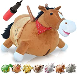 WALIKI Toys Bouncy Horse Hopper | Inflatable Hopping Horse for Kids | Jumping Horse